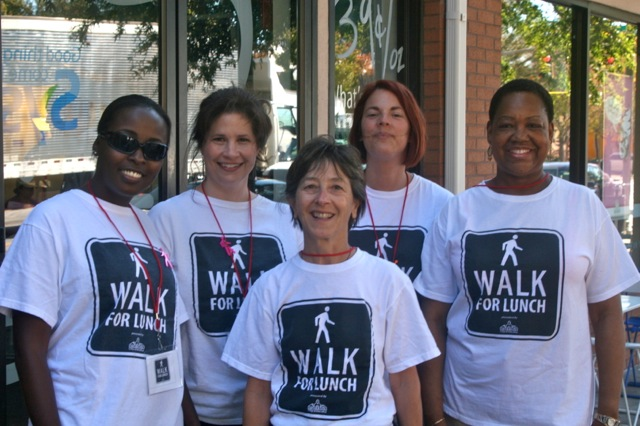 Buy Walk For Lunch t-shirts