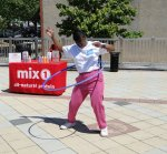 Virginia_competes_hulahoop_contest_Mix1_hands_out_freesamples